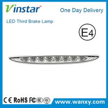 Chrome Black LED 3RD Brake Lamp for BMW Mini generation I R50 R53 generation II R56 R60 with E-Mark E4