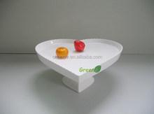 "10""Food safe ceramic cake stand for wedding"