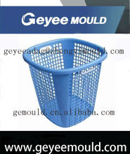 2014 factory price fashion & modern high quality waste plastic basket injection mould