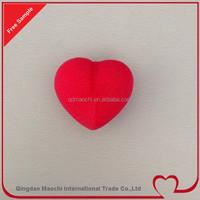 heart shape hot magic velcro rollers for hair