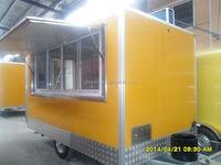 Best Design Camping Trailer Mobile Food Truck Food Caravan