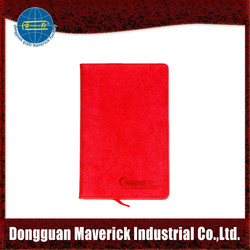 Diary Type and PU Cover Material 2015 agenda notebook leather agenda notebook