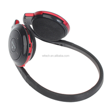 wholesale 3.5mm audio jack bluetooth headset with sd slot with high quality