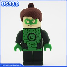 Green Lantern shaped usb flash disk superhero pen drive flash memory best price