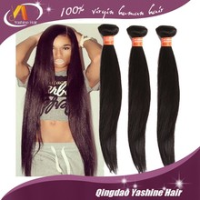 Wholesale Distributors Top Quality Bundles Extension Virgin Peruvian Straight Hair Weave In China