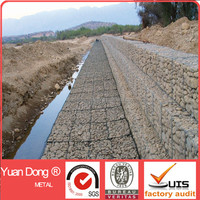 6x8 gabion basket gabion wire cages rock retaining wall