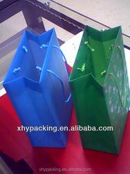 Large PP/PET/PVC plastic cosmetic bag ,clothing bag