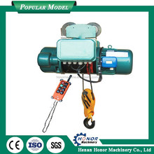 Large Lifting Weight Cable Hoist 220v/ Cable Pulling Equipment Wire Rope Electric Hoist