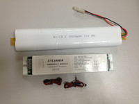 led strip emergency pack include 12v nicd rechargeable battery