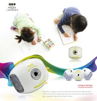 Multi-color children education mini projector with LED lamp/ three projecting mode portable projector