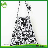 New arrival wholesale fashion latest ladies organic cotton tote bags