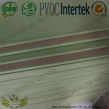 Paper faced gypsum board for drywalls or partitions with high quality lowest prices