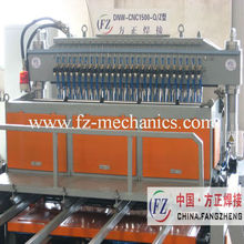 HOT Welding Wire Mesh Fence Machine producing wire mesh fence