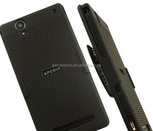 Combo Holster active Case for Sony Xperia C4 BLACK
