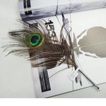 Delicate wedding souvenir gift pen/Peacock feather ball pen