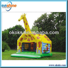 Cartoon animals inflatables bouncer