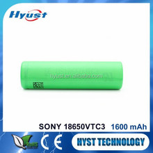 Japan battery 18650, 18650 rechargeable batter, 18650 Li-ion vtc3 batteries - Free samples