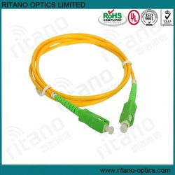 SC/APC SM Simplex 2.0mm Optical fiber patchcord