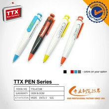Executive gift four color plastic ballpoint pen