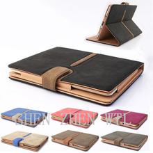 commerce grade book style leather case for ipad mini 2