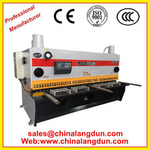CE Approved Durable E21 CNC shearing machine,QC11Y series guillotine