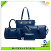 china wholesale leather shopping big bag for lady