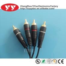 2 rca plug to2rca plug cable
