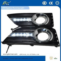 factory direct sale 6led daytime running light Waterproof led drl for Toyota Camry Low Configuration 12-13