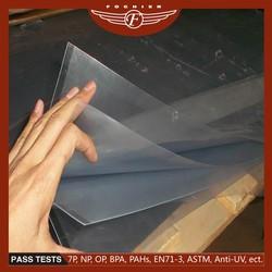 2016 Shanghai Fochier printable plastic products 4x8 pvc sheet