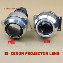 high and low beam headlight for motorcycle hid bi-xenon projector lens