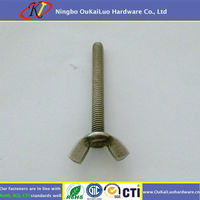 SS Butterfly Wing Bolt Screw