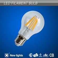 2700K Warm White Cooper Filament A60 E27 Led Bulb Light