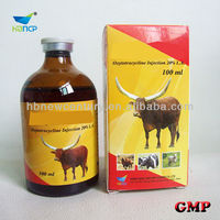 veterinary injectable antibiotic 5% 10% 20% oxytetracycline injection