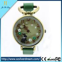 3D Soft Ceramic Dial Fashion Beautiful Wristband Watch Domestic