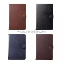 For iPad Mini 4 Genuine Leather Case, Flip Real Leather Case For iPad Mini 4