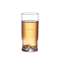 2014 new products 270 ml shaped drinking glass cup small glass tea cups holder glass mug cup