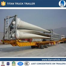 Directy factory 3axles wind blade semi trailer