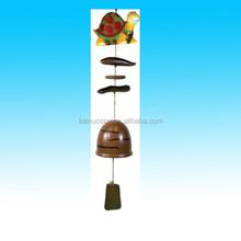 hot sale christmas ceramic wind bells ornaments