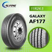 Aufine radial truck tires, good quality reasonalbe price 11R24.5