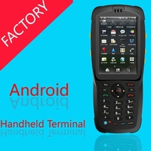 IP67 Andorid PDA Handheld terminal android phone 1d scanner reader DHL bar gun