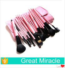 Hot sale professional 23 pcs makeup brush set synthetic hair cosmetic tools set