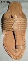 leather kolhapuri chappals