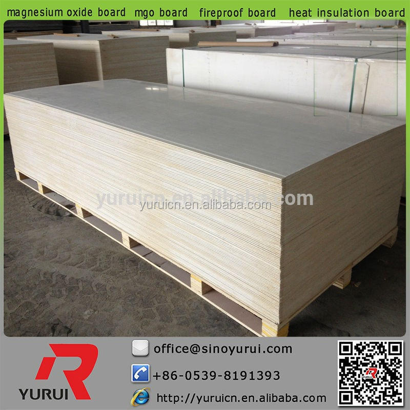 Fireproof home mgo wall panels heat insulation material