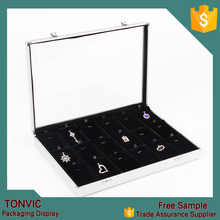 Aluminum Carrying Case Jewelry Display