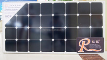 A-grade cell high efficiency solar panel mono 100w best price from China customization available