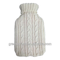hot water bag knitted cover
