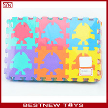 Kids toy roll up puzzle mat