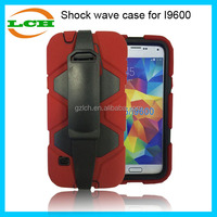 Fashion Shockproof Silicone+plastic combo Phone case for Samsung galaxy S5