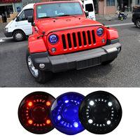Newest Head Lamp 12V Origina Car Double Light Lens LED Headlight For Jeep Wrangler 2009 ~2015 Head Light