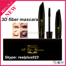 New generation fast moving consumer mascara goods for beauty care Real Plus 3d fiber lash mascara tube
